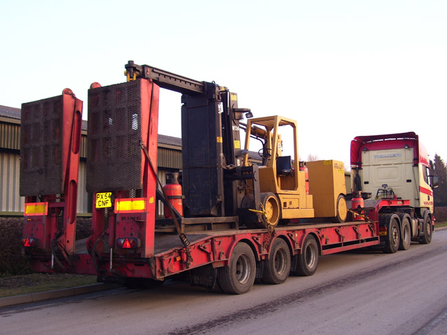Special Vehicles for Plant Removals