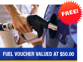 Fuel Voucher valued $50