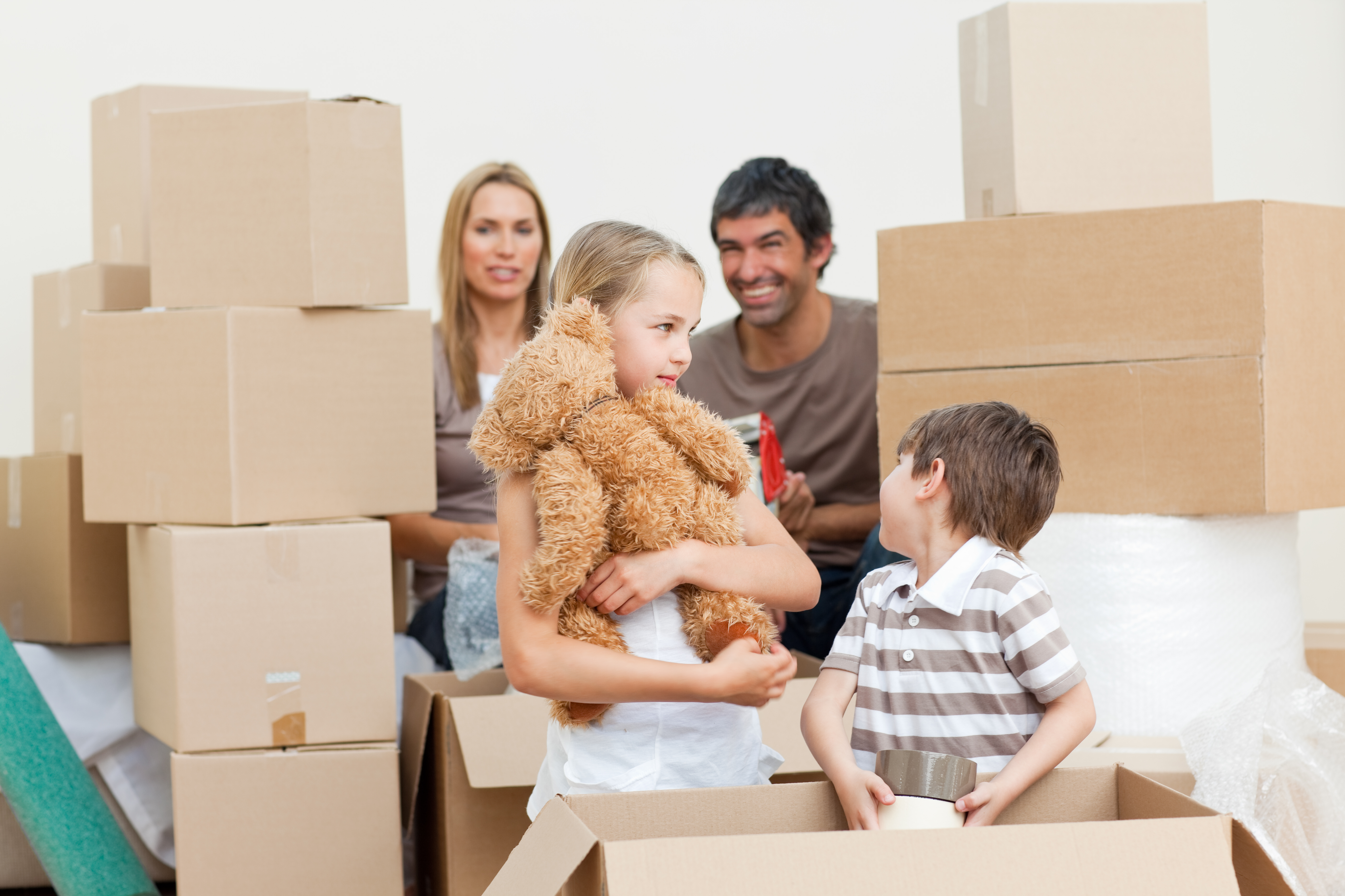 Preparing your Children for Moving Home